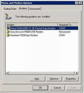 Internet Modem HP